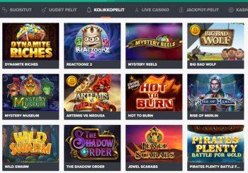 Ninja Casino kokemuksia - pelit