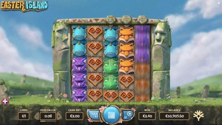 Easter Island suuret patsaat