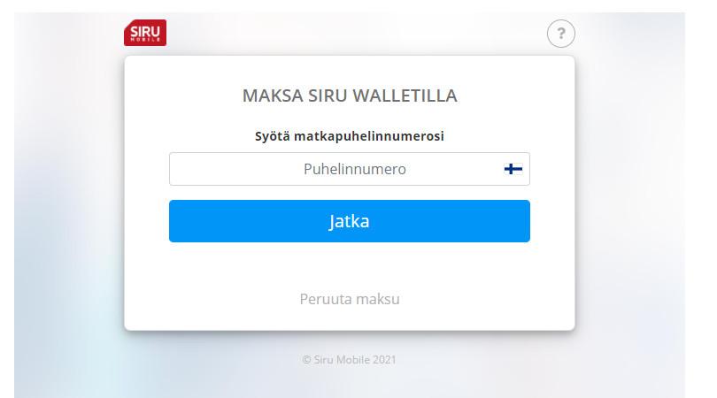 siru wallet