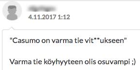 casumo keskustelu suomi24