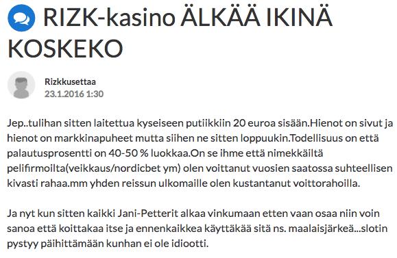 rizk suomi24