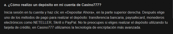 Casino777_depositos