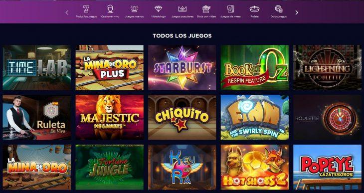 juegos en genesis casino