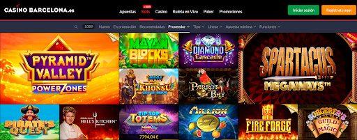juegos casino barcelona online